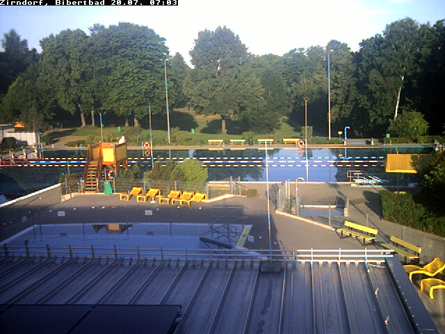 Webcam auf das Bibertbad